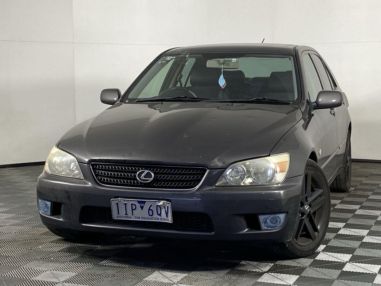 2002 Lexus IS200 Sports Luxury Automatic Sedan