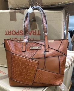 Qty of 4 Brown Handbags - Large