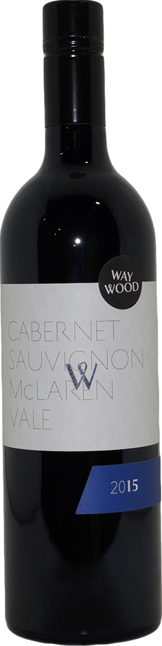 Waywood Wines Cabernet Sauvignon 2015 (6x 750mL), McLaren Vale. Screwcap.