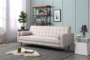 Sofa Bed 3 Seater Button Tufted Lounge S