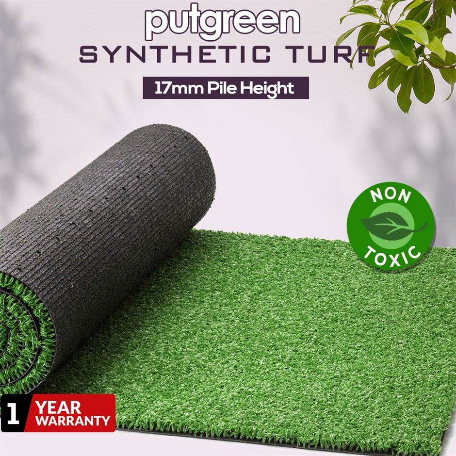 60SQM Artificial Grass Lawn Outdoor Synthetic Turf Plastic Plant Lawn