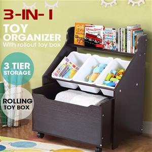 Levede Kids Toy Box Children Cloth Rack