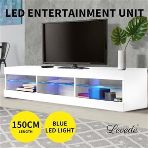 Levede TV Cabinet LED Entertainment Unit