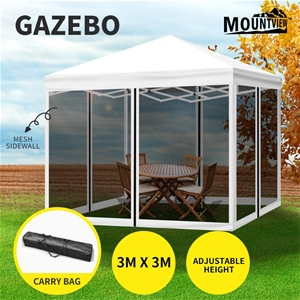 Mountview Gazebo Pop Up Marquee Outdoor