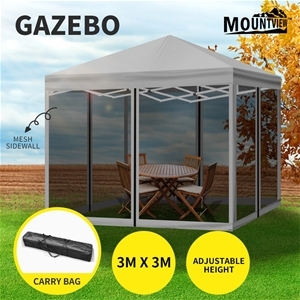 Mountview Gazebo 3x3m Pop Up Marquee Out