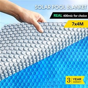 7x4M Real 400 Micron Solar Swimming Pool