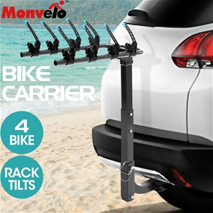 Monvelo Car Bike Rack Carrier 4 Rear Mou