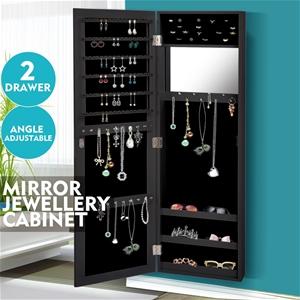 Levede Mirror Jewellery Cabinet Makeup J