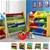 Levede 12Bins Kids Toy Box Bookshelf Organiser Display Shelf Rack Drawer