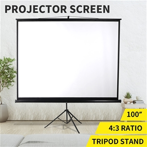 100 Inch Projector Screen Tripod Stand P