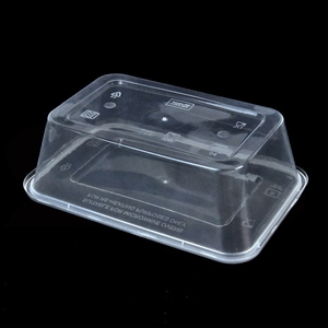 500 Pcs 1000ml Food Platstic Containers