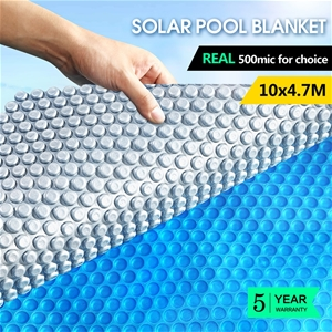 Swimming Pool Cover 500 Micron Solar Bla