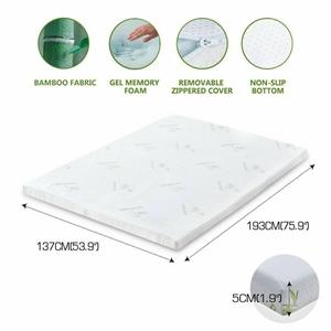 DreamZ 5cm Thickness Cool Gel Memory Foa