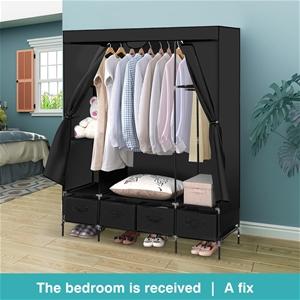Levede Portable Wardrobe 4 Drawers Cabin