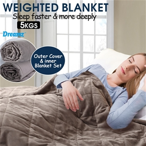 DreamZ 5KG Anti Anxiety Weighted Blanket