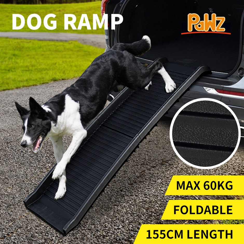 PaWz Dog Ramp Pet Ramps Foldable Ladder Steps Stairs Portable Car