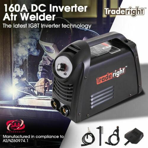 Traderight 160Amp Welder DC iGBT Inverter MMA Welding Machine Stick