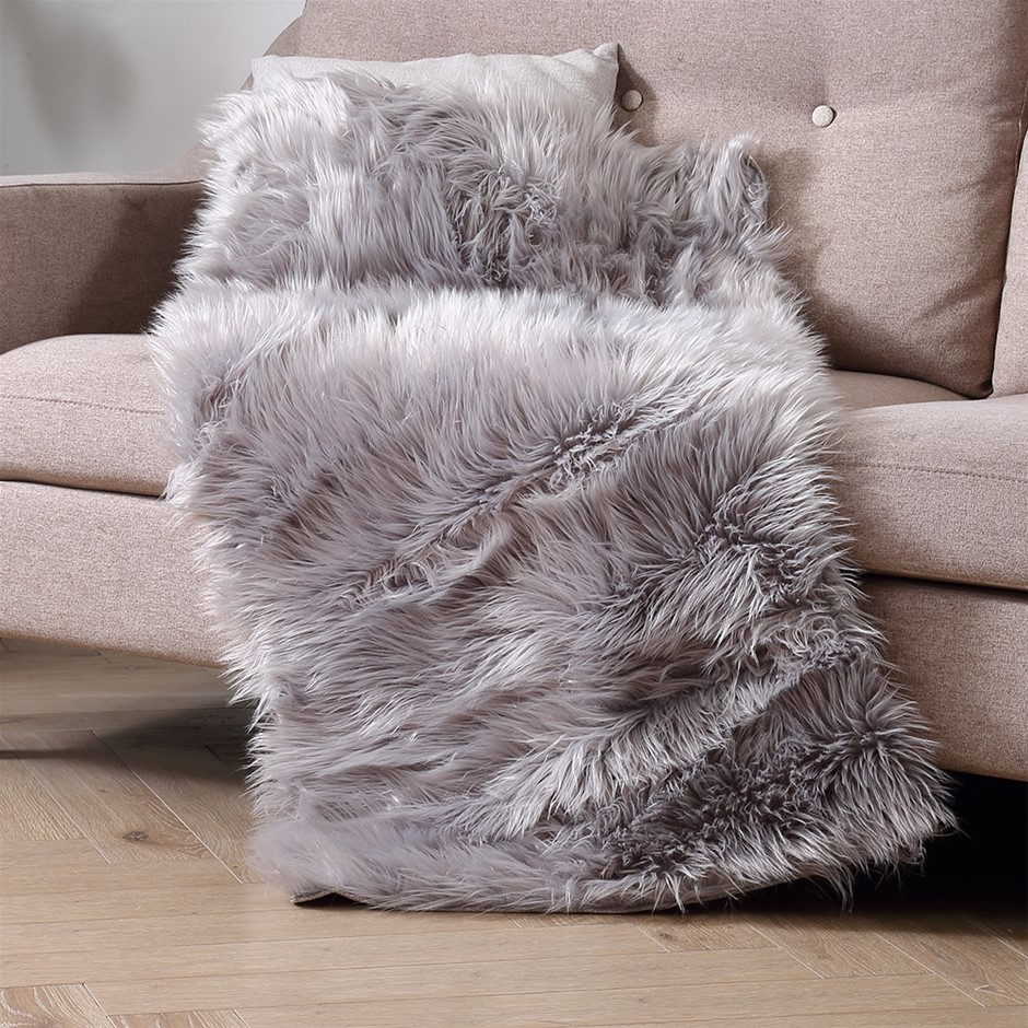 Floor Rugs Sheepskin Shaggy Area Carpet Bedroom Living Room Mat 160X230
