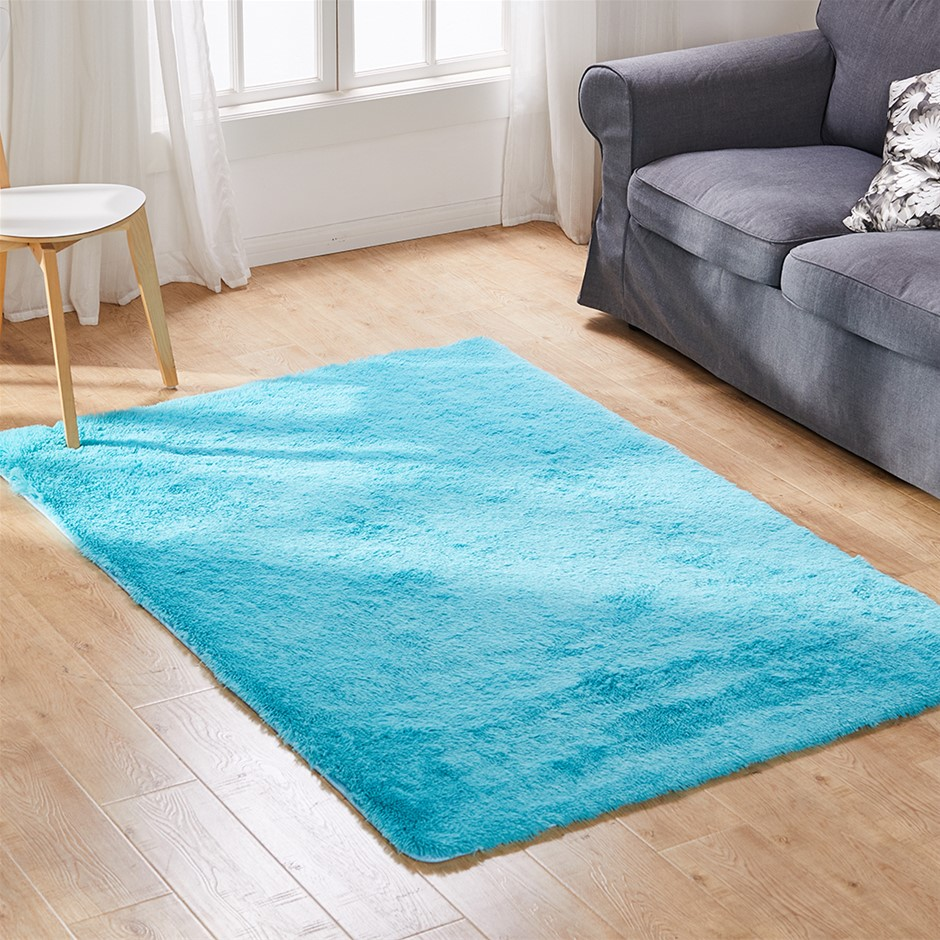 Designer Soft Shag Shaggy Floor Confetti Rug Carpet Home Decor 300x200cm