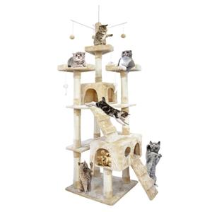 PaWz 2.1M Cat Scratching Post Tree Gym H