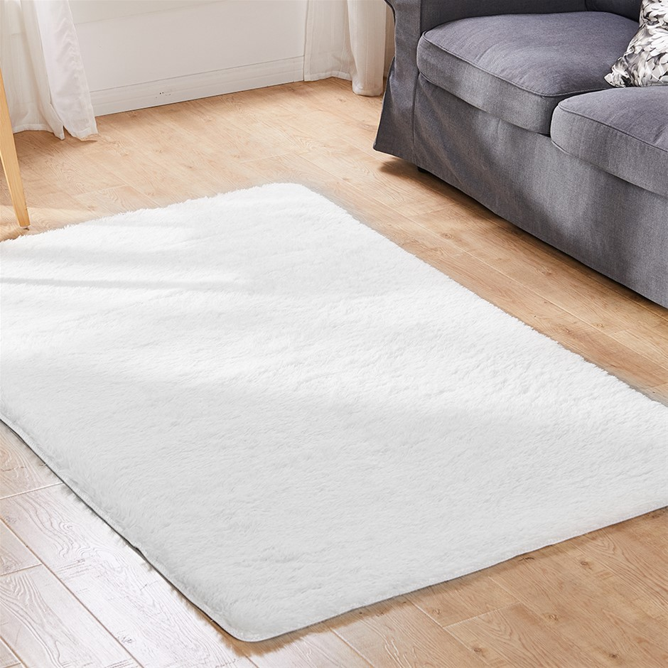 Floor Rugs Shaggy Large Mats Shag Carpet Bedroom Living Room Mat 230 x 200