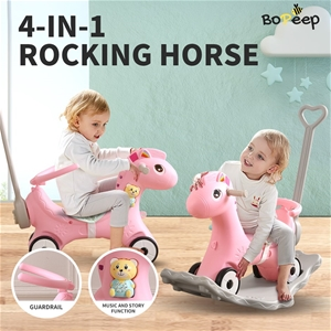 BoPeep Kids 4-in-1 Rocking Horse Toddler