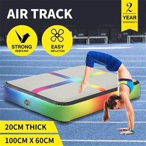 0.6MX 1M Air Track Inflatable Mat Airtra