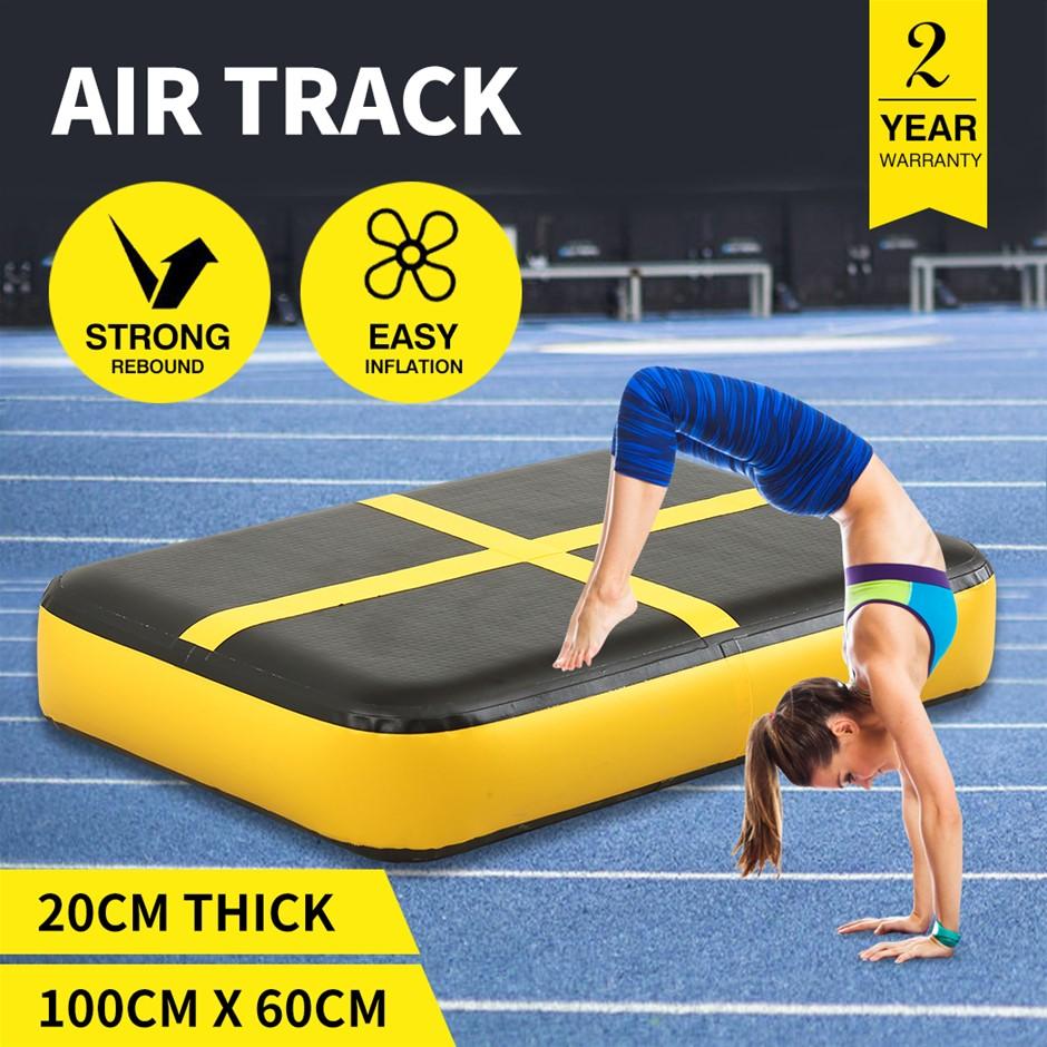 0.6M X1M Air Track Inflatable Mat Airtrack Tumbling Air Pump Gymnastics