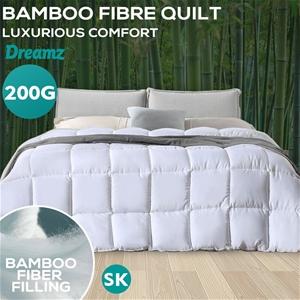 DreamZ 200GSM All Season Bamboo Quilt Du
