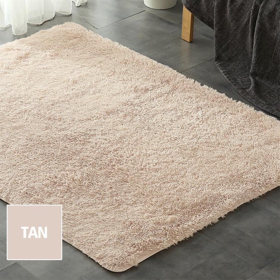 Designer Soft Shag Shaggy Floor Confetti Rug Carpet Home Decor 200x230cm