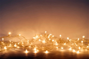 800 LED Curtain Fairy String Lights Outd