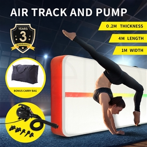 4x1M Inflatable Air Track Mat Tumbling P
