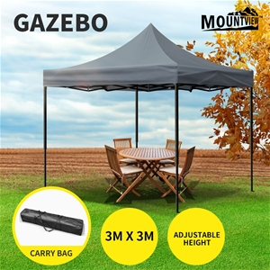 Mountview Gazebo Tent 3x3 Outdoor Marque