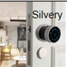 Smart Door Lock Silver