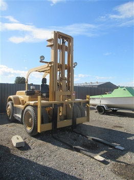 Hyster 7 Tonne 4 Wheel Counterbalance Forklift