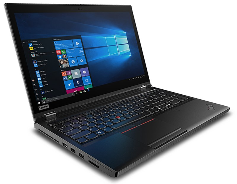Lenovo ThinkPad P53 15.6-inch Notebook, Black
