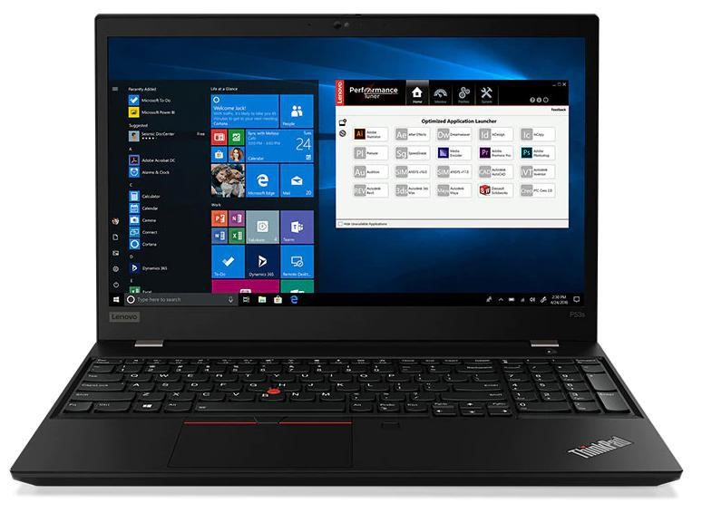 Lenovo ThinkPad P53s 15.6-inch Notebook, Black