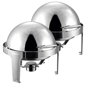 SOGA 2X 6L Stainless Steel Chafing Food