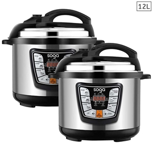 SOGA 2X Stainless Steel Electric Pressur