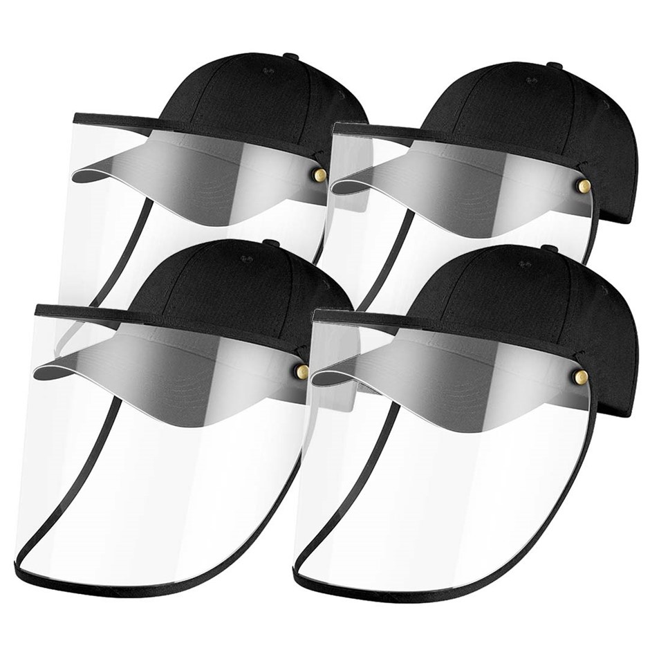 4X Outdoor Protection Hat Anti-Fog Pollution Cap Full Face HD Shield Cover