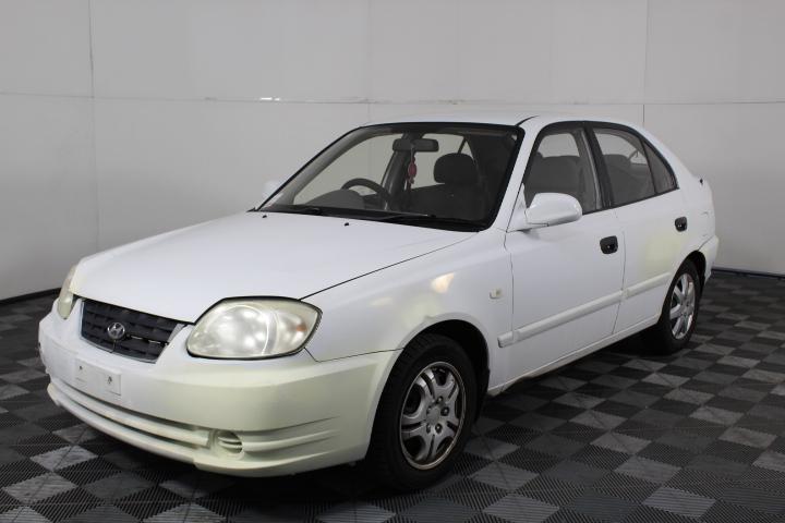 2004 Hyundai Accent 1.6 LS Automatic Hatchback (WOVR)