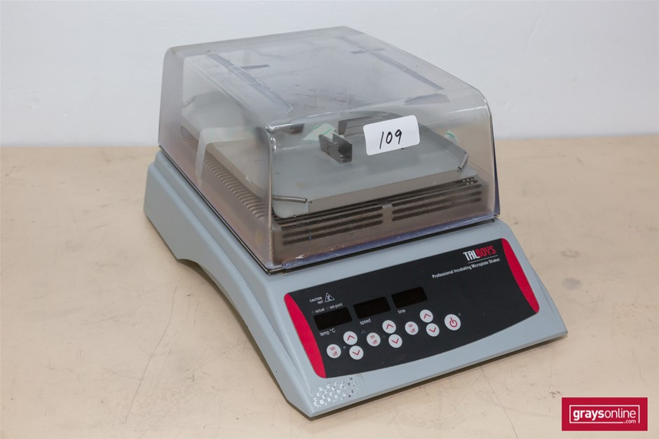 Microplate incubator shaker with 4 plate capacity, 240V. Talboys (273139-10