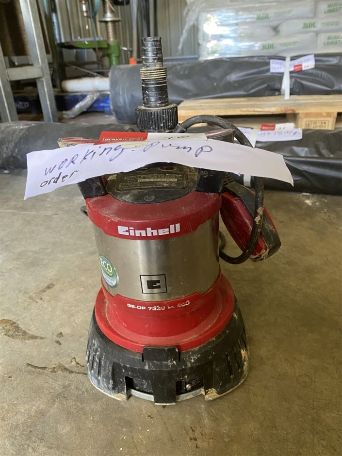 Einhell Pump Said to be in working order (273629-40)