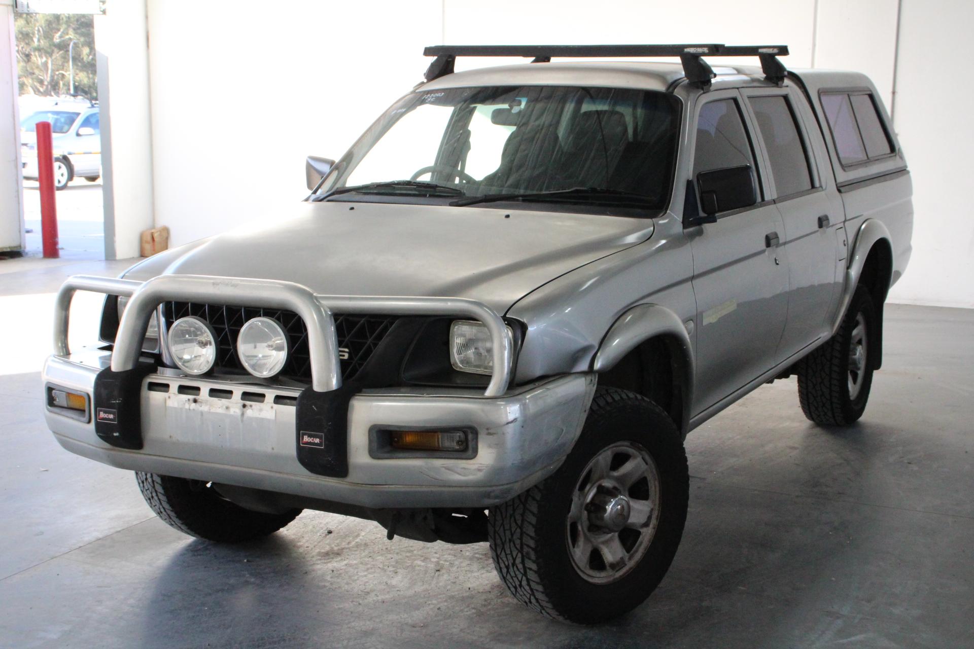 2004 Mitsubishi Triton GLX MK Automatic Dual Cab