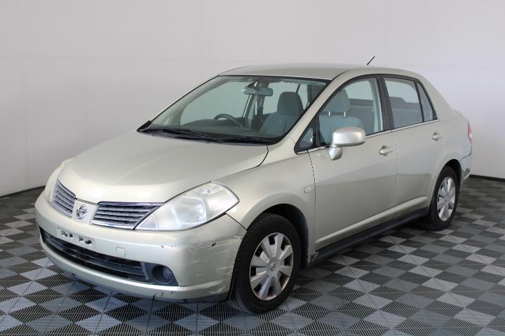 2006 Nissan Tiida ST C11 Automatic Sedan 132,046km (WOVR-Inspected)