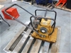 1 x Crommelins 18 Inch Plate Compactor