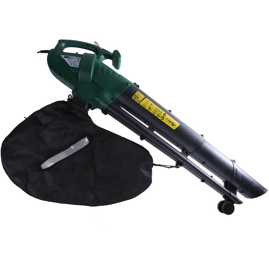 Leading Retail Brand Electric Garden Blower Vac, 2400W Motor. (SN:AG-37934)