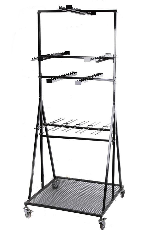 OSKA Metal Garden Tool Display Stand. (SN:9497709) (275908-118)