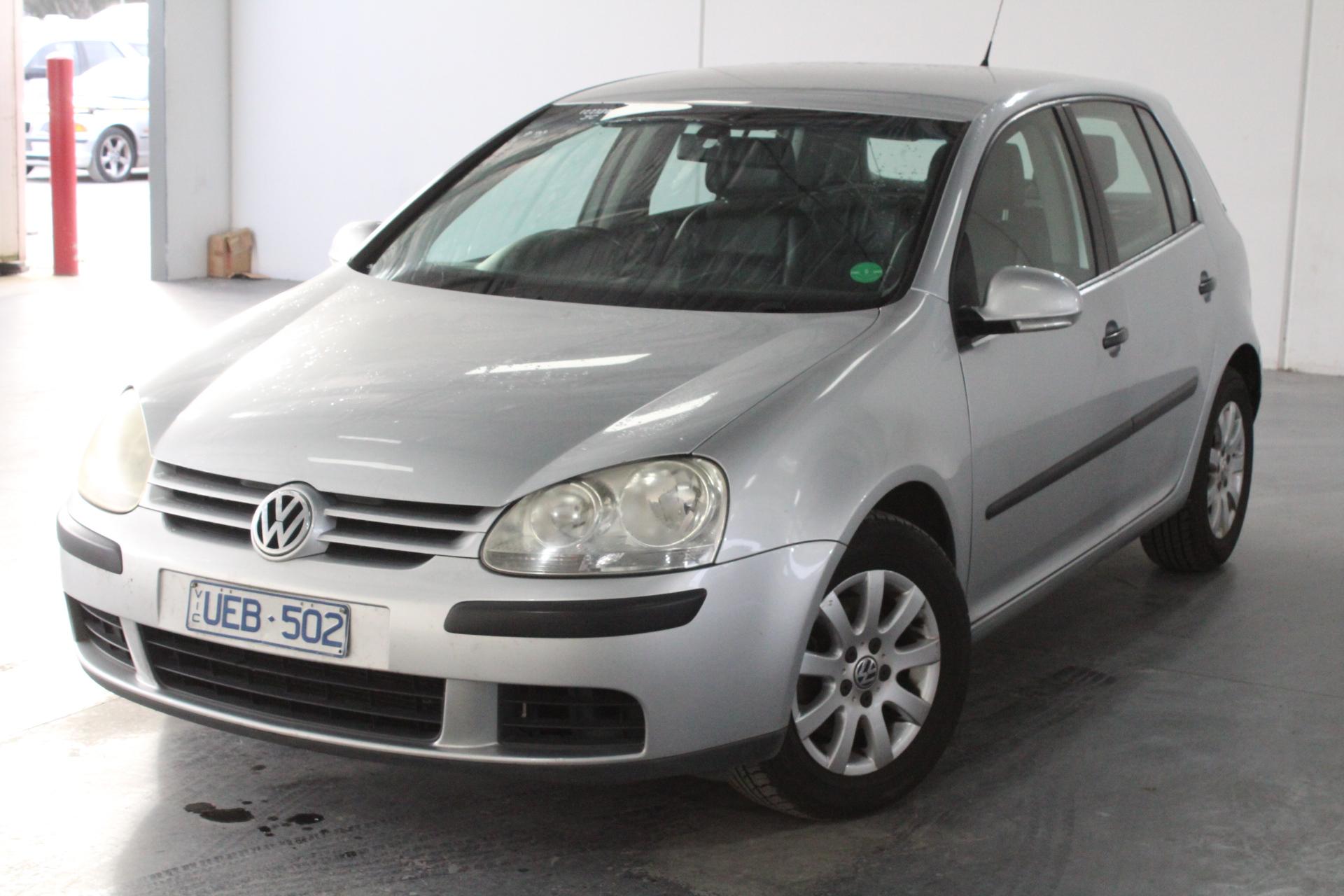 2006 Volkswagen Golf 2.0 TDI Comfortline 1k T/D Auto Hatch