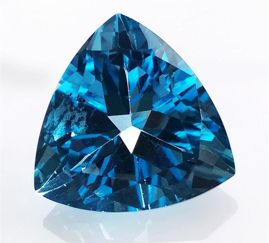 12.79 Carat Swiss Blue Topaz
